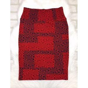 Lularoe Cassie Stretch Pencil Skirt Small